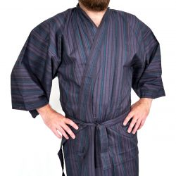 Yukata cotton Men TATESHIMA