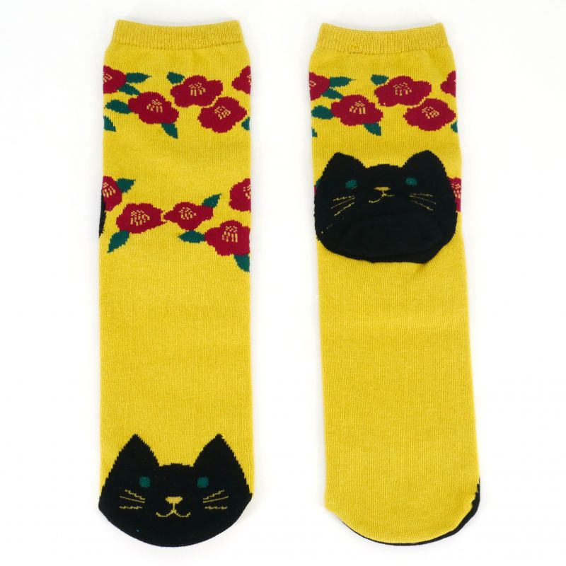 Japanese cotton tabi socks, HANANEKO