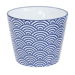 Japanese blue ceramic mug - AOKAPPU