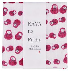 Japanese cloth towel, WAFUKA, daruma