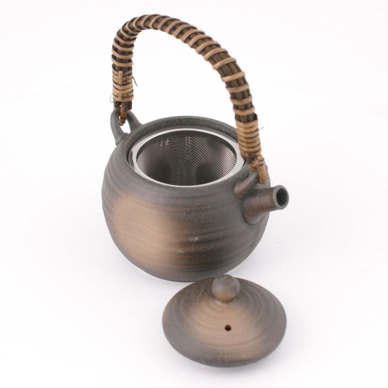 Set of 3 pairs of blue Japanese chopsticks - HASHI SETO