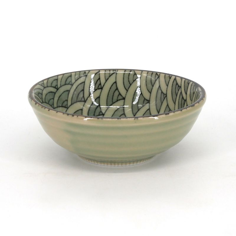 Small Japanese ceramic bowl - SEIGAIHA