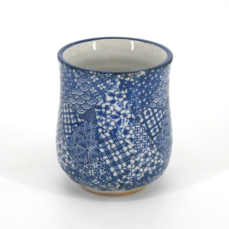 Japanese ceramic tea mug - PATTERN