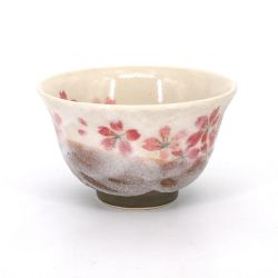Japanese ceramic tea cup - SAKURA NO KABA