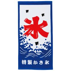 Large Japanese cotton bath towel, KORI BATA, Freshness