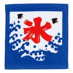 Japanese cotton hand towel, KORI BATA, Freshness