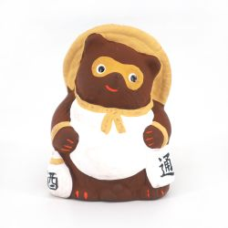 Small Japanese ceramic tanuki ornament - TANUKI -