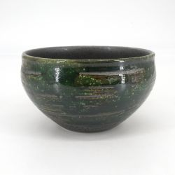 Japanese red brush ramen bowl - MIGAKIMASU