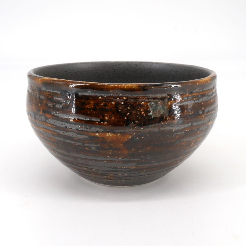 Japanese ramen bowl - ORIBE NAGOMI - brown