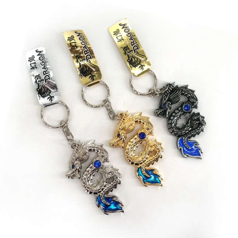 Japanese metallic keychain - DRAGON DAIA