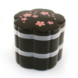 Japanese Black Cherry Blossom Bento Lunch Box, MAISAKURA, Cherry Blossom