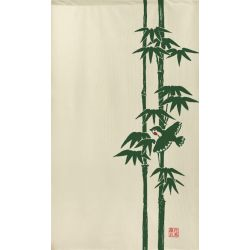 Japanese Noren polyester curtain, TAKE