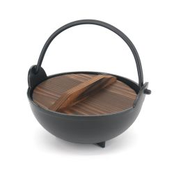 Small Japanese cooking pot with lid - CHORI NABE