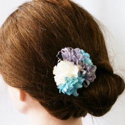 Flower hair pick - HANA KANZASHI