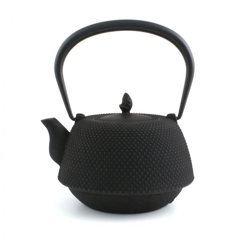 Small Makura cushion with temari pattern, green - MAKURA TEMARI