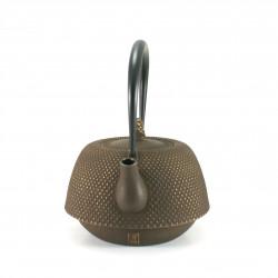 Small Makura cushion with temari pattern, light blue - MAKURA TEMARI