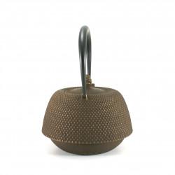 Small Makura cushion with cat motif, blue - MAKURA NEKO