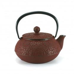 Small Makura cushion with food pattern, blue - MAKURA SHOKUMOTSU