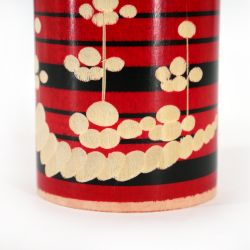 Japanese wooden Kokeshi doll - UME - Color of your choice