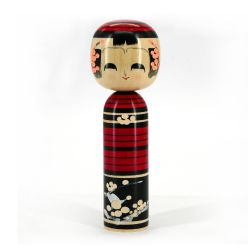 Japanese wooden Kokeshi doll - UME
