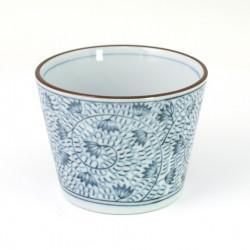 Japanese cotton tabi socks, ZORI-HANA