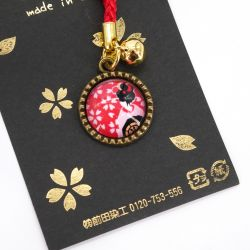 Decorative charm for key and phone - GEISHA CHARM