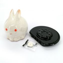 Japanese incense holder for stick and cone - USAGI
