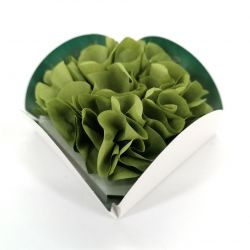 Paper flower containing 8 incense cones with holder - FLORAL WORLD JASMINE - Jasmine