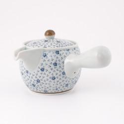 Set of 4 Japanese ceramic bowls with golden border - GORUDO