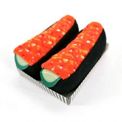 Japanese sushi socks - SALMON EGGS