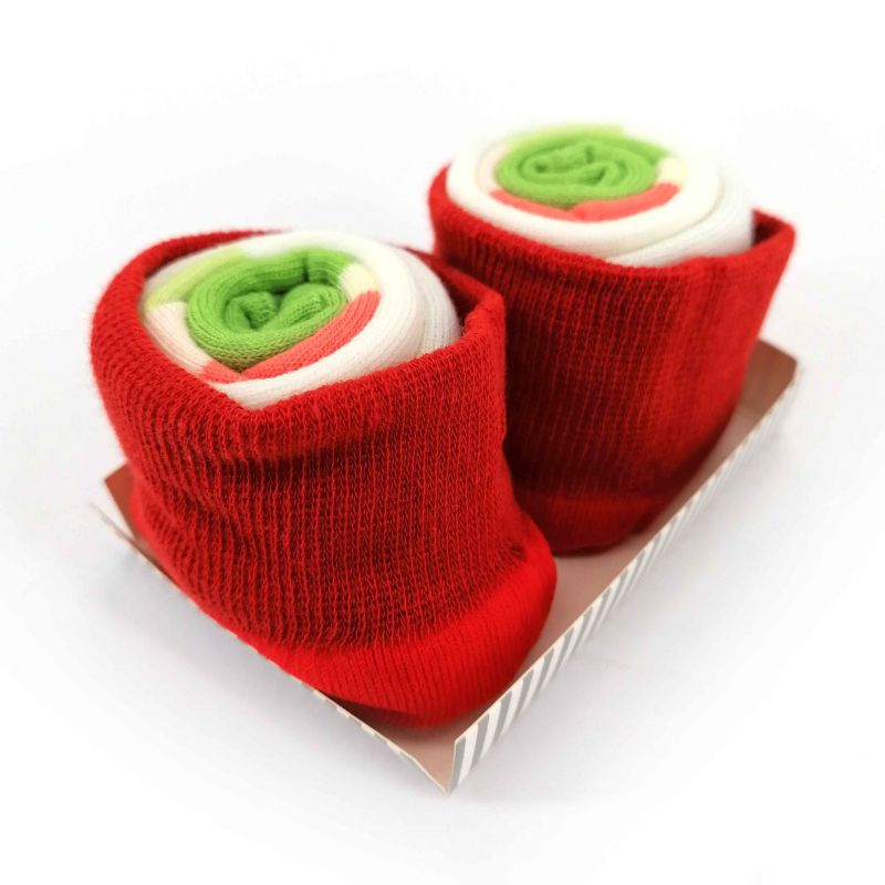 Japanese maki socks - CALIFORNIA ROLL