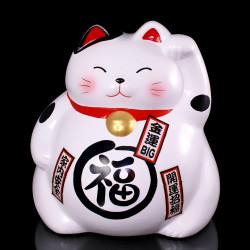 Japanese lunch box S, MANEKINEKO, yellow