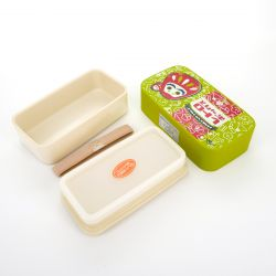 Japanese lunch box S, FUKUDARUMA, green