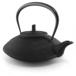 Japanese white ceramic donburi bowl - POINTO