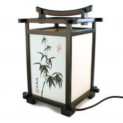 Taza de té de cerámica japonesa, blanco y flores de cerezo - SAKURA USAGI