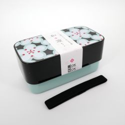 Japanese lunch box, UMI, flowers