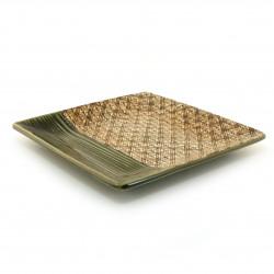 Vaso giapponese soliflore rotondo, nero - HANA MOMIJI