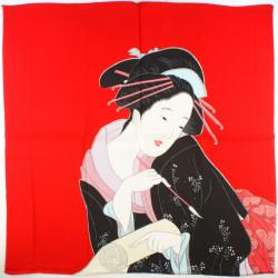 Japanese soliflore vase, green - TEKUSUCHA