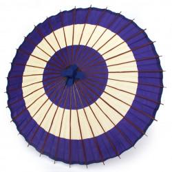 Teiera giapponese in ceramica kyusu con filtro rimovibile e interno smaltato, blu e marrone - BURUENAMERU