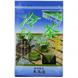 Japanese ceramic mug with handle, beige and purple - SAKURA