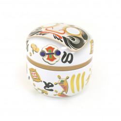 Japanese ceramic chopsticks holder - MIDORI HYOTAN