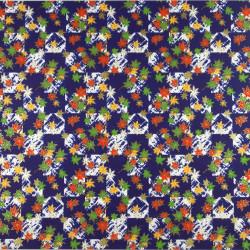 Taza japonesa con tapa chawan mushi lunares blancos, rojos y verdes - POINTO