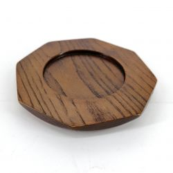 Coaster in wood - HACHIKAKUKEI