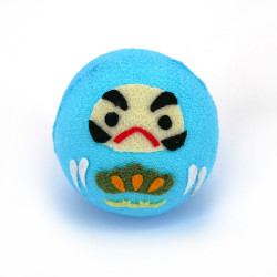 Bambola Okiagari Daruma blu...