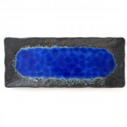 Yukata japonesa negra con...