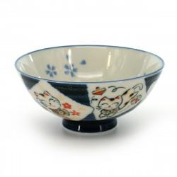 Passeggiata delle bambole Kokeshi in legno giapponese - OSANPO