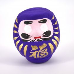 japanese doll, DARUMA, purple