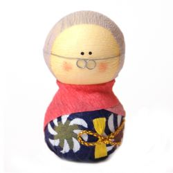 japanese okiagari doll, SOFUDO, wife