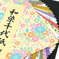Here you will find all the Japanese paper you will need for your creations