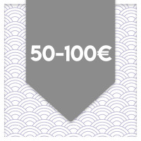 between 50 and 100 euros